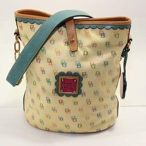 Dooney & Bourke North South Bucket purse